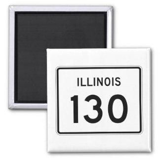 Aimant Itinéraire 130 de l'Illinois