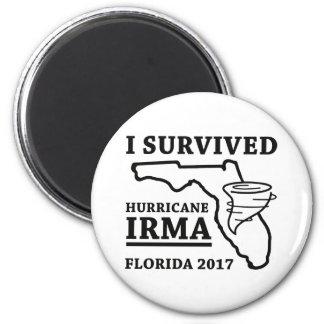 Aimant J'ai survécu à l'ouragan Irma