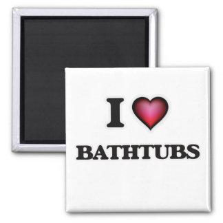 Aimant J'aime des baignoires
