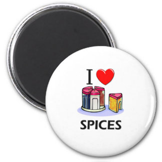 Aimant J'aime des épices