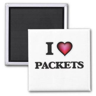 Aimant J'aime des paquets
