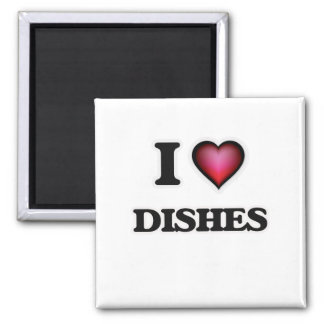 Aimant J'aime des plats