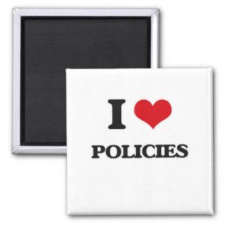 Aimant J'aime des politiques