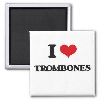 Aimant J'aime des trombones