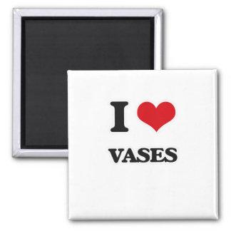 Aimant J'aime des vases