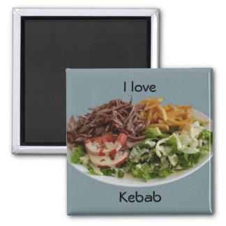 Aimant J'aime l'aimant de chiche-kebab