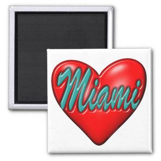 Aimant J'aime Miami