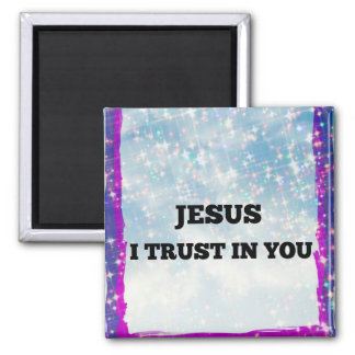 Aimant Je fais confiance à Jésus