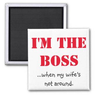 Aimant Je suis le patron