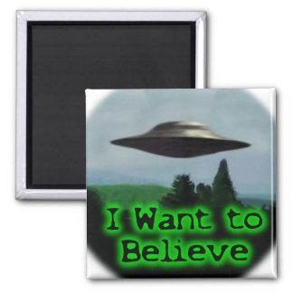 Aimant Je veux croire
