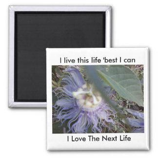 Aimant Je vis cette vie, mieux je peux, j'aime la vie