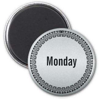 Aimant Jour de la semaine lundi