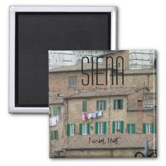 Aimant Jour de lavage de Sienne Toscane