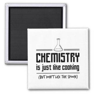 Aimant La chimie fait cuire
