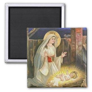 Aimant La naissance de l'aimant de cru de Jésus