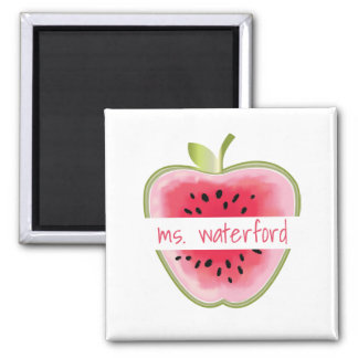 Aimant La pastèque Apple a personnalisé le professeur