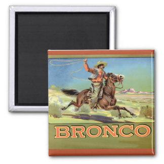 Aimant La publicité vintage, papier hygiénique de Bronco