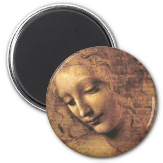 Aimant La Scapigliata par Leonardo da Vinci