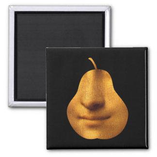 Aimant L'aimant de carré du sourire de la Mona Lisa