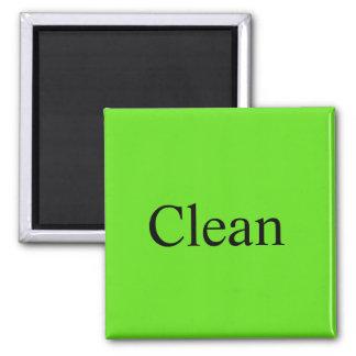 """Aimant L'aimant de lave-vaisselle """"nettoient """""""