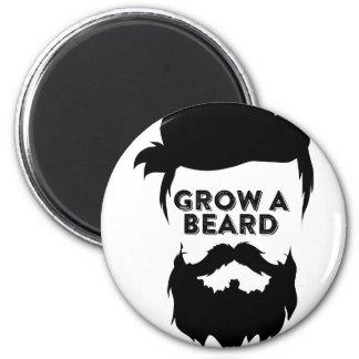 Aimant Laissez-vous pousser une barbe alors que nous