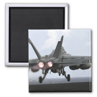 Aimant Lancements superbes d'un frelon de F/A-18E