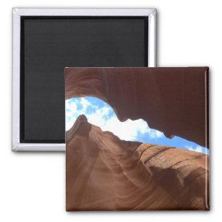 Aimant L'ARIZONA - canyon supérieur B d'antilope - roche