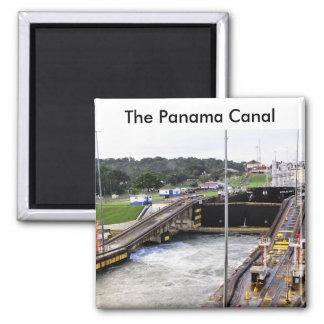 Aimant Le canal de Panama, Photographie élevée de Def