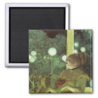 Aimant Le concert de café par Edgar Degas, beaux-arts