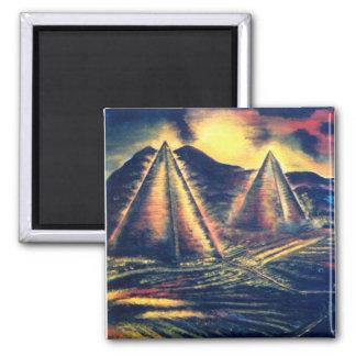 Aimant Le lieu de repos, pyramides