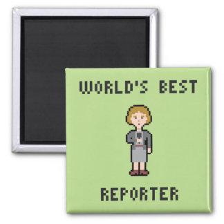 Aimant Le meilleur journaliste féminin de pixel