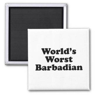 Aimant Le plus mauvais Barbadien du monde