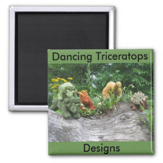 Aimant Le Triceratops de danse conçoit l'aimant de