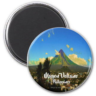 "Aimant Le volcan Mayon, Albay Philippines ""3d """