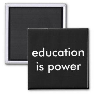 Aimant l'éducation est puissance