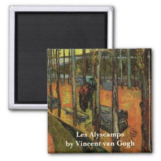 Aimant Les Alyscamps (cimetière) par Vincent van Gogh