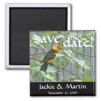Aimant Les animaux de faune d'oiseaux sauvent le mariage