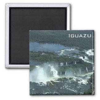 Aimant Les chutes d'Iguaçu - vue aérienne