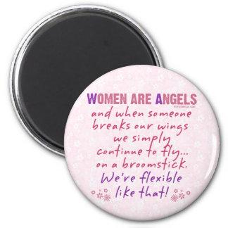 Aimant Les femmes sont des anges