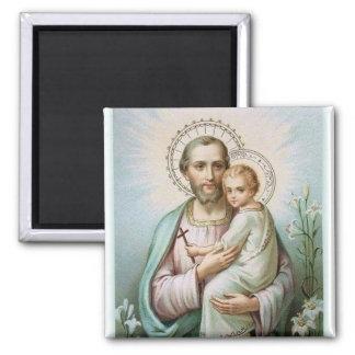 Aimant Lis de Jésus de bébé de St Joseph