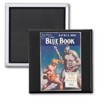 Aimant Livre bleu magazine _l'art en avril 1930 _6_Pulp