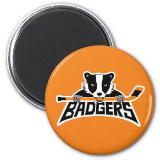 Aimant Logo d'hockey de blaireaux