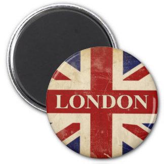 Aimant Londres - Union Jack - amour Londres d'I