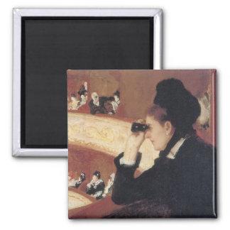 Aimant L'opéra par Mary Cassatt, impressionisme vintage
