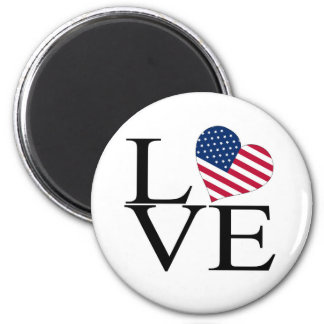 Aimant LOVE_America_Plain
