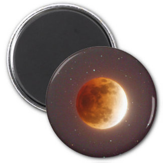 Aimant Lune de sang d'éclipse lunaire