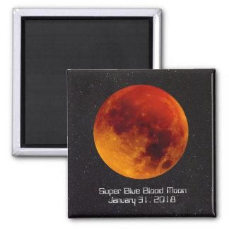 Aimant Lune superbe de sang bleu astr rare et spécial d'A