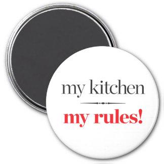 Aimant Ma cuisine, mes règles