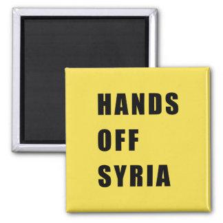 Aimant Mains outre de la Syrie