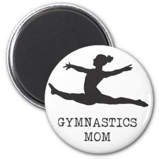 Aimant Maman de gymnastique